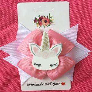 Hello Kitty Handmade Hair Bow